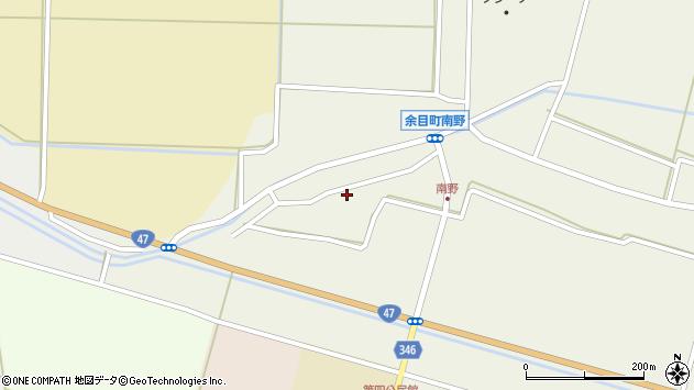山形県東田川郡庄内町南野南浦126周辺の地図