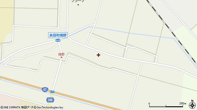 山形県東田川郡庄内町南野南浦45周辺の地図