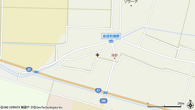 山形県東田川郡庄内町南野南浦106周辺の地図