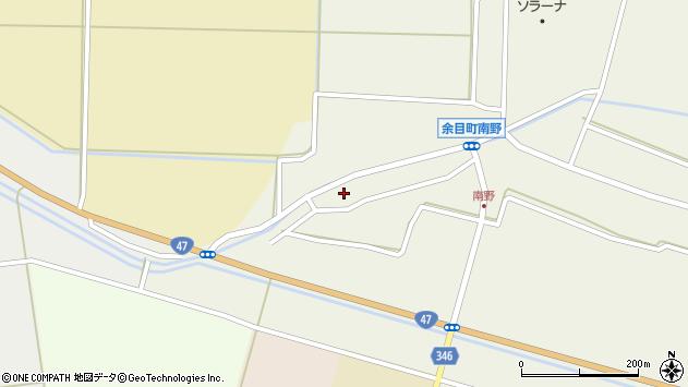 山形県東田川郡庄内町南野南浦136周辺の地図
