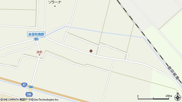 山形県東田川郡庄内町南野北浦21周辺の地図