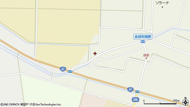 山形県東田川郡庄内町南野西野83周辺の地図