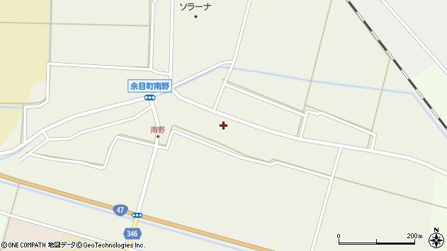 山形県東田川郡庄内町南野南浦52周辺の地図