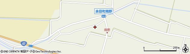 山形県東田川郡庄内町南野南浦107周辺の地図