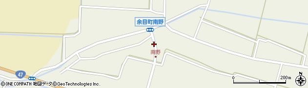 山形県東田川郡庄内町南野南浦93周辺の地図