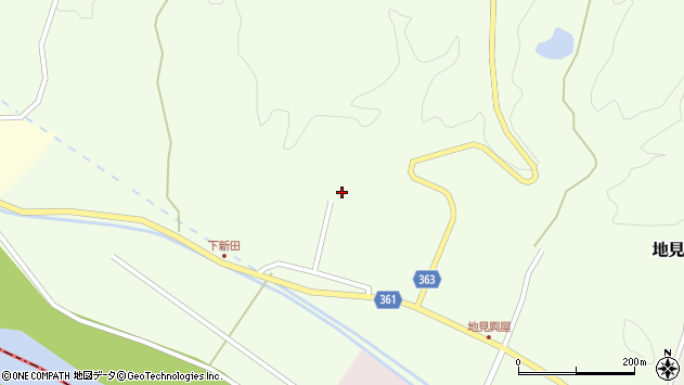 山形県酒田市地見興屋前割53周辺の地図