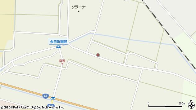 山形県東田川郡庄内町南野北浦33周辺の地図