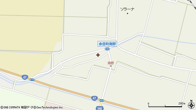 山形県東田川郡庄内町南野南浦104周辺の地図