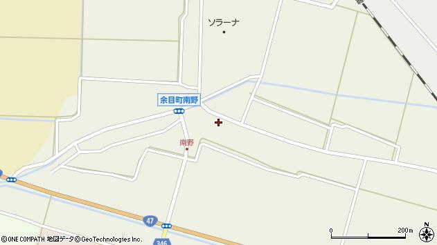 山形県東田川郡庄内町南野南浦64周辺の地図