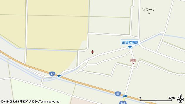 山形県東田川郡庄内町南野西野79周辺の地図