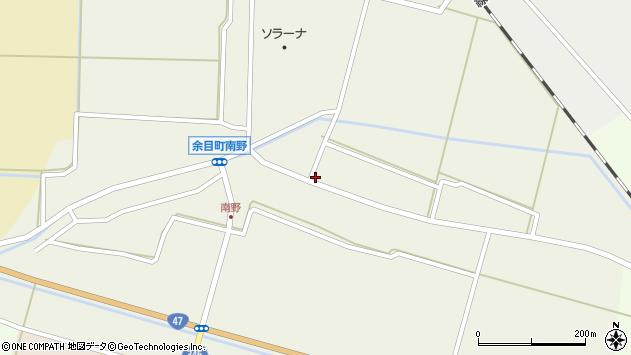 山形県東田川郡庄内町南野北浦41周辺の地図