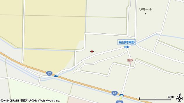 山形県東田川郡庄内町南野西野76周辺の地図