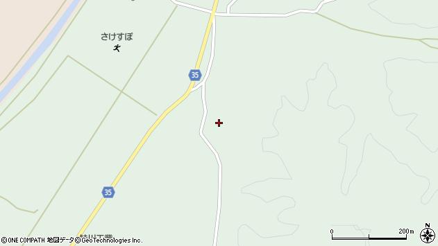 山形県最上郡鮭川村京塚3430周辺の地図