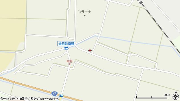山形県東田川郡庄内町南野北浦42周辺の地図