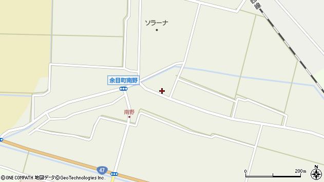 山形県東田川郡庄内町南野北浦43周辺の地図