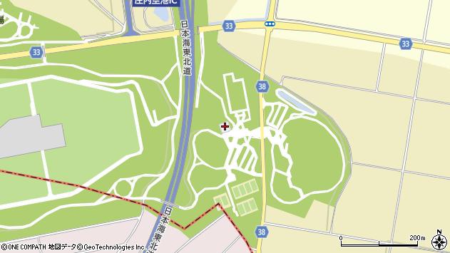 山形県酒田市浜中粮畑306周辺の地図