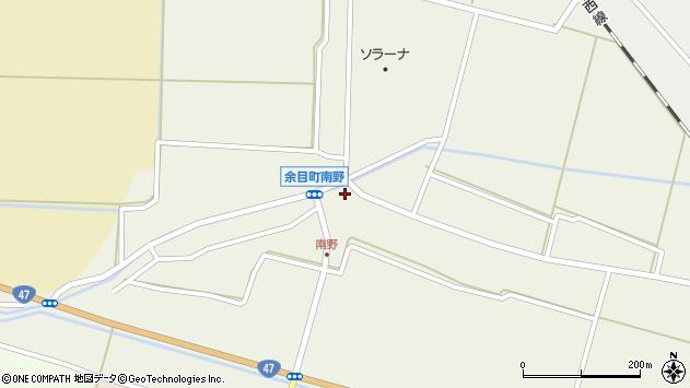 山形県東田川郡庄内町南野南浦87周辺の地図