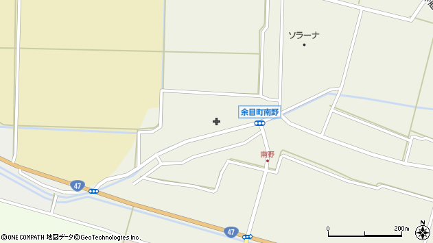 山形県東田川郡庄内町南野西野68周辺の地図