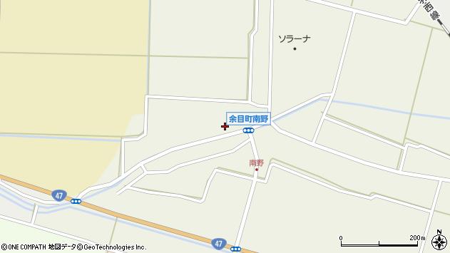 山形県東田川郡庄内町南野西野64周辺の地図