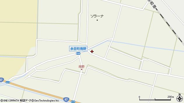 山形県東田川郡庄内町南野北浦48周辺の地図