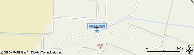 山形県東田川郡庄内町南野西野59周辺の地図