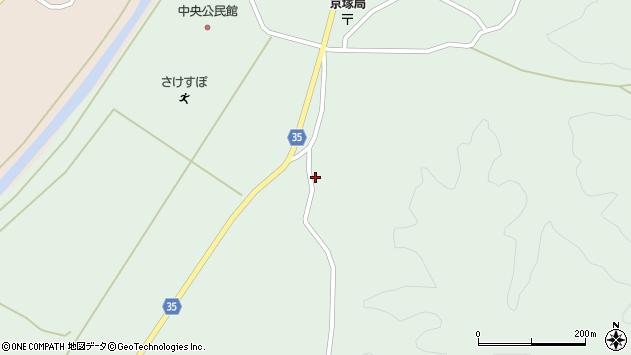 山形県最上郡鮭川村京塚1368周辺の地図