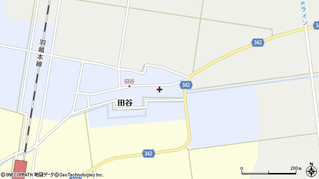 山形県東田川郡庄内町田谷谷田16周辺の地図