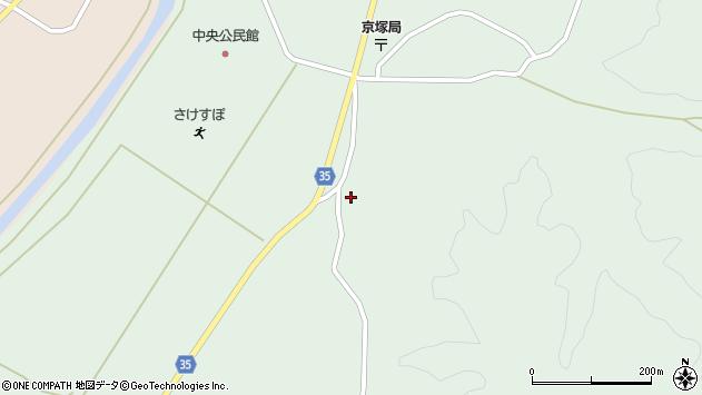 山形県最上郡鮭川村京塚1365周辺の地図