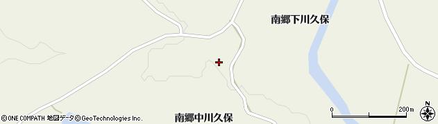 宮城県栗原市鶯沢南郷中川久保周辺の地図