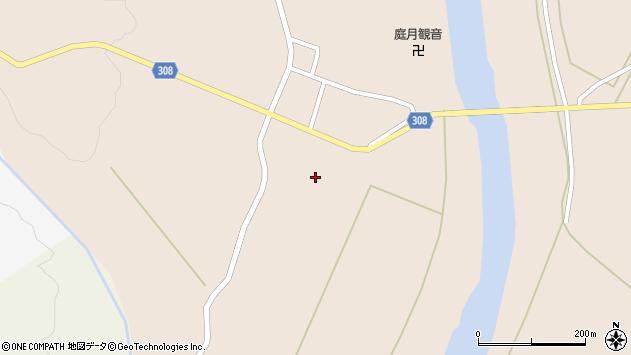 山形県最上郡鮭川村庭月2945周辺の地図