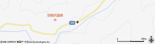 山形県最上郡鮭川村中渡1306周辺の地図