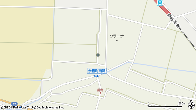 山形県東田川郡庄内町南野西野31周辺の地図