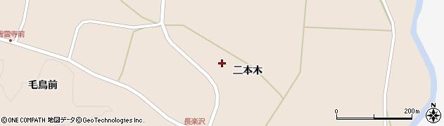 宮城県栗原市栗駒猿飛来八反区周辺の地図