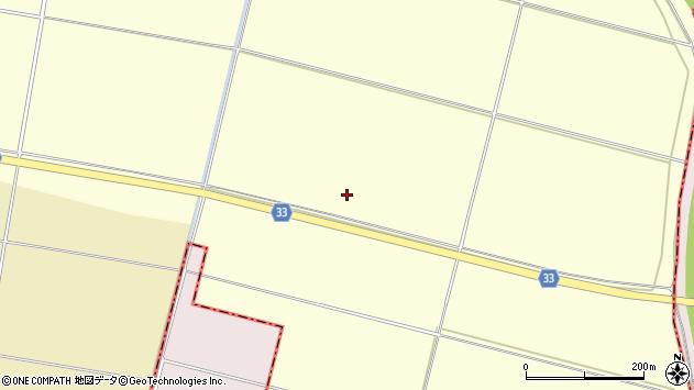 山形県酒田市広岡新田六分地周辺の地図