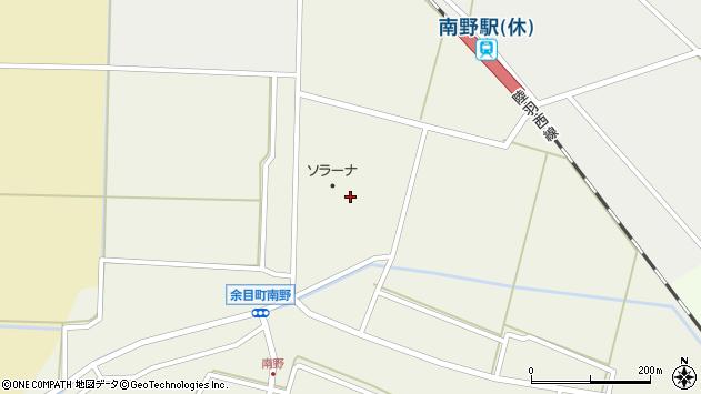 山形県東田川郡庄内町南野北野周辺の地図