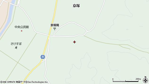 山形県最上郡鮭川村京塚1118周辺の地図
