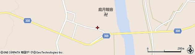 山形県最上郡鮭川村庭月2831周辺の地図