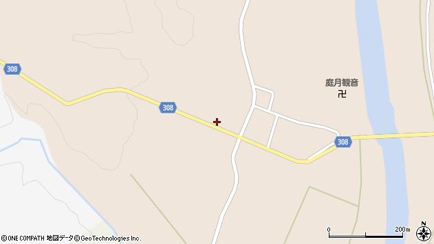 山形県最上郡鮭川村庭月2903周辺の地図