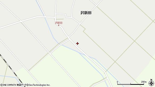 山形県東田川郡庄内町沢新田錆23周辺の地図