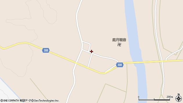 山形県最上郡鮭川村庭月2838周辺の地図