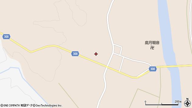 山形県最上郡鮭川村庭月2883周辺の地図