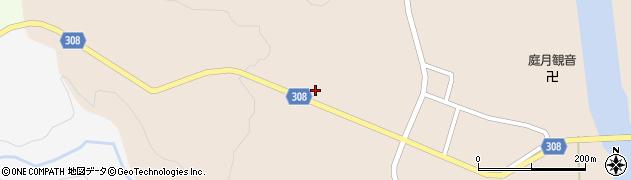山形県最上郡鮭川村庭月2860周辺の地図