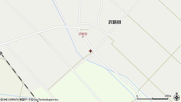 山形県東田川郡庄内町沢新田村表2周辺の地図