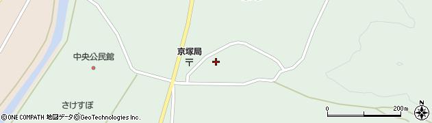 山形県最上郡鮭川村京塚1092周辺の地図