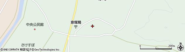 山形県最上郡鮭川村京塚2926周辺の地図