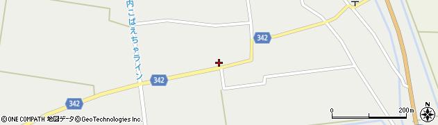 山形県東田川郡庄内町廻館館舎121周辺の地図