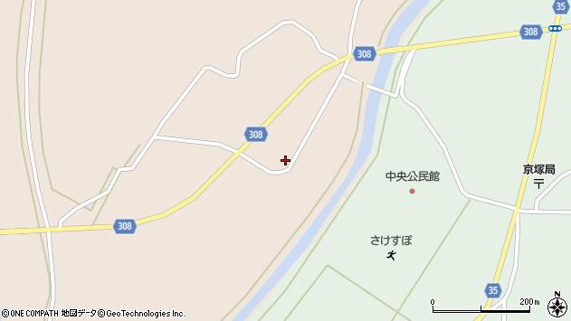 山形県最上郡鮭川村庭月696周辺の地図