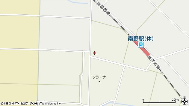 山形県東田川郡庄内町南野北野89周辺の地図