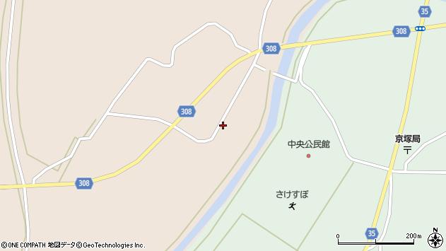 山形県最上郡鮭川村庭月740周辺の地図