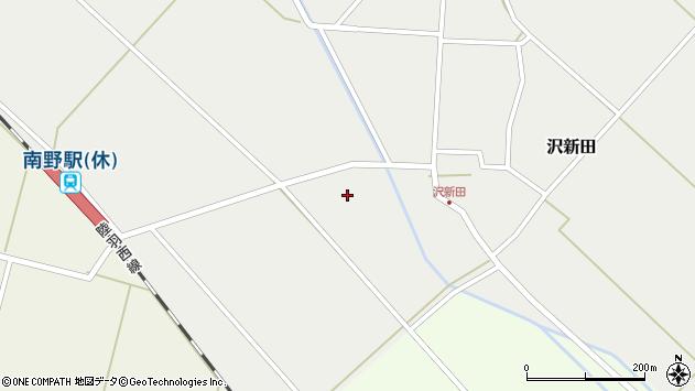 山形県東田川郡庄内町沢新田縦野52周辺の地図